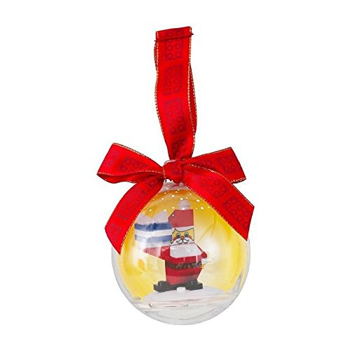 LEGO Christmas Ornament Santa