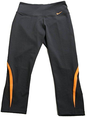 Nike Legend 2.0 Tech Capri Tight XS Grey Orange