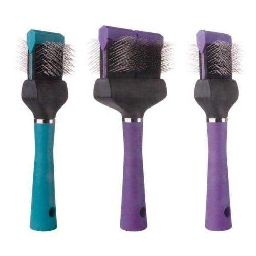 Professional Soft Flex Slicker Brushes for Dogs Dog Grooming Brush Kits Too!(All 3 Double)