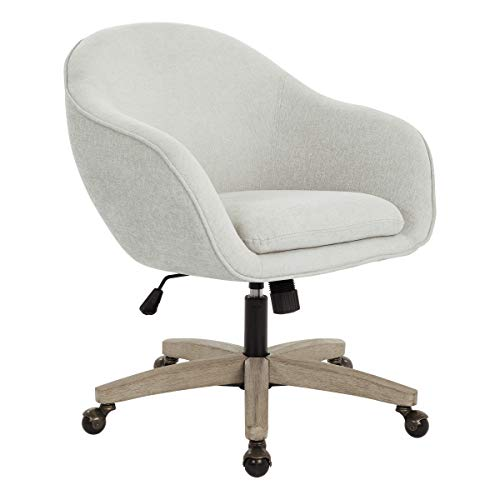 OSP Home Furnishings NRA26-SK329 Nora Office Chair, Dove