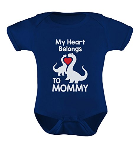 TeeStars - My Heart Belongs to Mommy Cute Baby Bodysuit