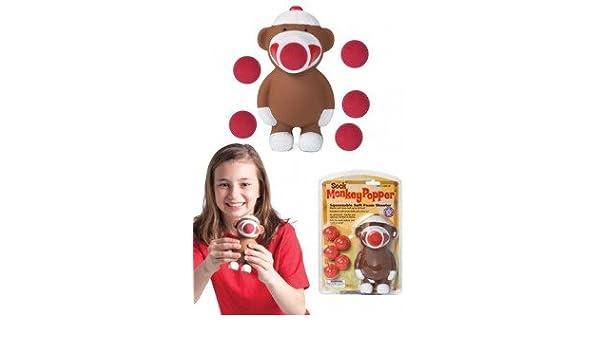 Sock Monkey Magic Magnet Hair-Sock Monkeys TinFun