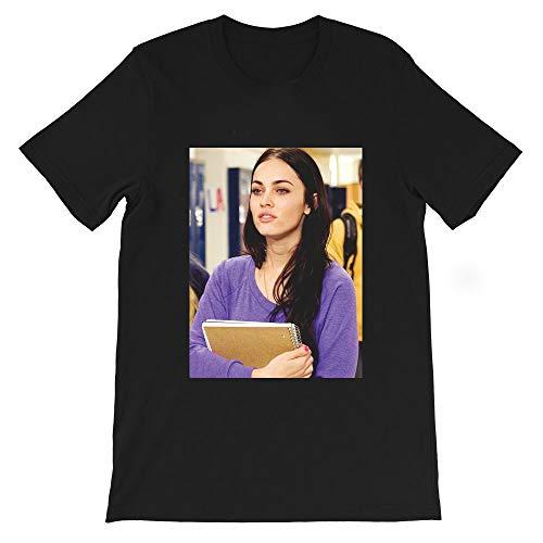So Tired Meghan Fox Cute Funny Jennifers Body Mean Girls Lindsay Lohan Graphic Gift Men Women Unisex T-Shirt Sweatshirt (Black-S)
