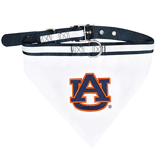 - Pets First Collegiate Pet Accessories, Collar Bandana, Auburn Tigers, Medium