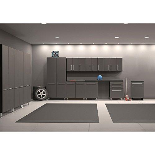 12-Pc Cabinet in Graphite Gray and Black
