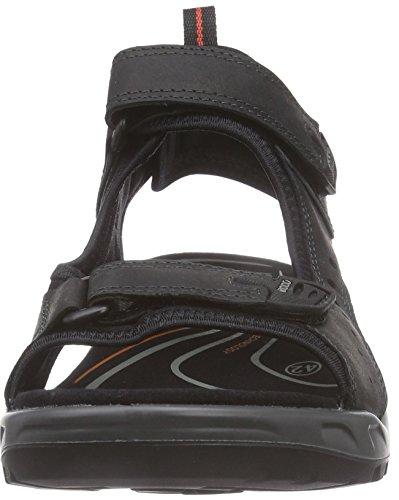 Ecco Mens Yucatan Sandaal Zwart