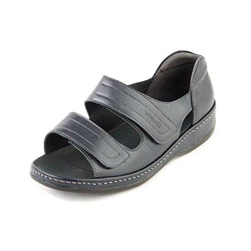 Sandpiper - Sandalias de vestir para mujer, color azul, talla 40 EU