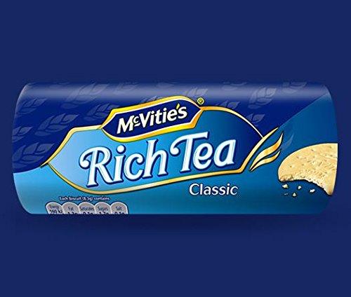 Mcvities Rich Tea - 200g - Pack of 4 (200g x 4)