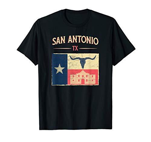 San Antonio Texas Design A Memorable Souvenier I Gift Idea T-Shirt (Women Looking For Men In San Antonio)