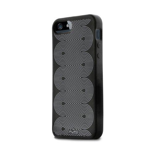 Puro IPC5SBLK Silicon Cover für Apple iPhone 5 schwarz