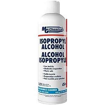 MG Chemicals 824 99 9% Isopropyl Alcohol Electronics Cleaner, 16 oz Aerosol  Spray