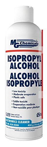 MG Chemicals 99.9% Isopropyl Alcohol Liquid Cleaner, 16oz Aerosol Can, (16 Ounce Alcohol)