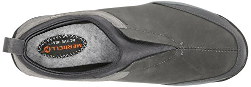 Merrell DEWBROOK MOC WTPF - zapatilla deportiva de piel mujer gris - Grau (GRIZZLE GREY)