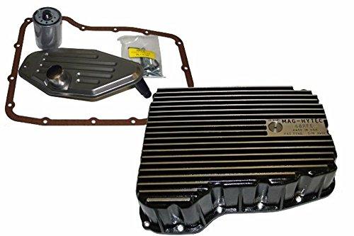 Mag Hytec Transmission Pan fits 07.5-17 Dodge 6.7L Cummins 68RFE + FILTERS (68rfe Transmission Filter)