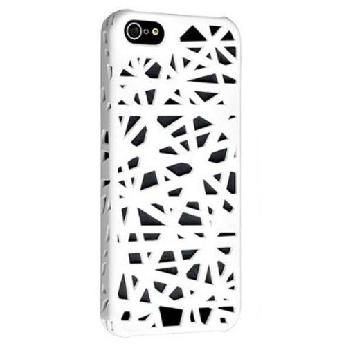 Wandeneng Case Compatible with Apple Iphone 5c Bird Nest Rear (White)