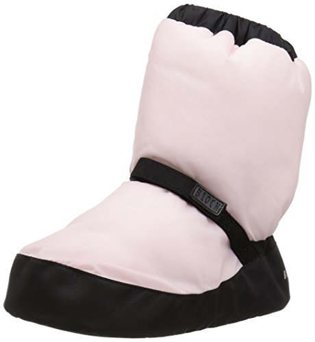 Bloch Girls Bootie Warm Up Boot/Slipper, Candy Pink, Large (Slipper Booties For Girls)