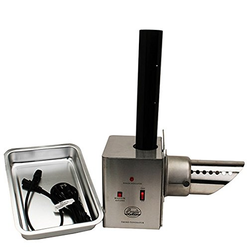 Bradley Smoker BTSG1 Generator with Adapter, 7 by 9 by 9-Inch, Silver