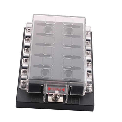 Generic New DC32V 12 Way Terminals Circuit ATC ATO Car Auto Blade Fuse Box Block Holder by Generic