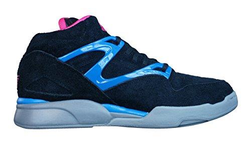 Reebok() Pump Omni Lite V53789 - Zapatos de tacón para mujer Negro / Rosa / Azul