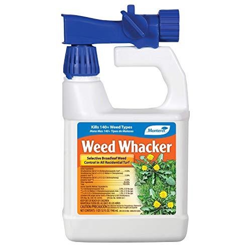 Monterey LG5288 Whacker Ready to Spray Herbicide, Broadleaf Weed Killer for Lawns, 32 oz, 32 oz