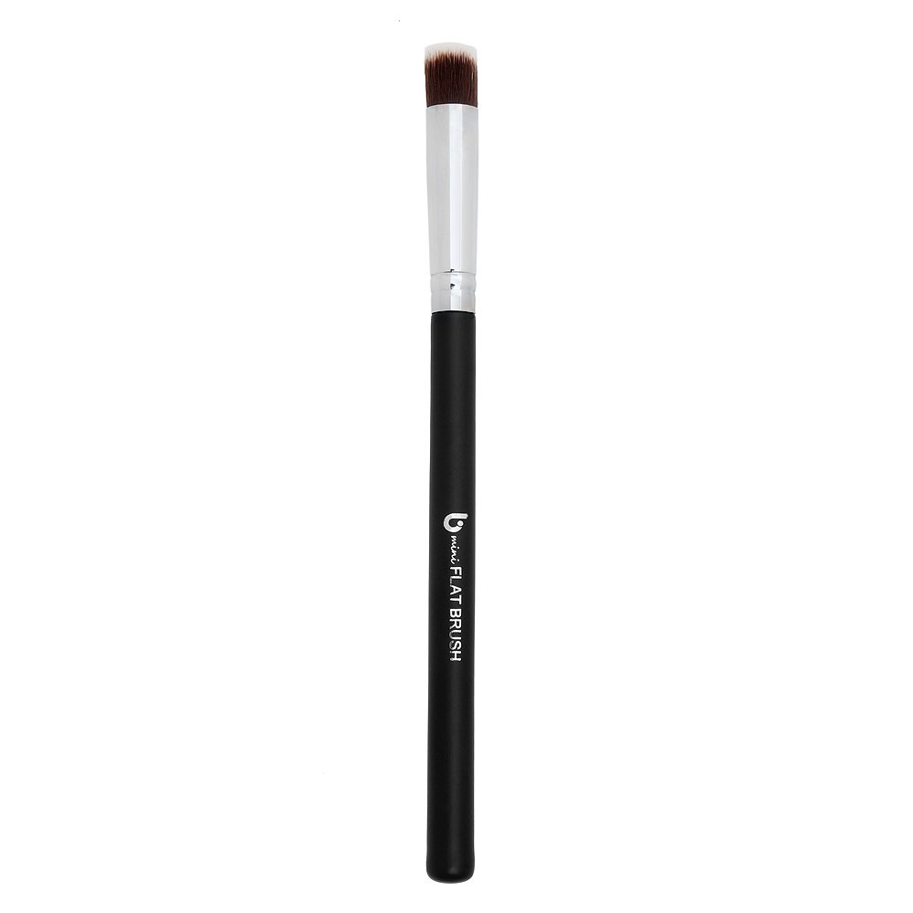Under Eye Concealer Makeup Brush – Small Mini Flat Top Synthetic Bristles Best for Acne, Under Eye Concealing and Blending Liquid, Powder, Cream for Maximum Coverage, Vegan