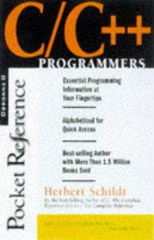 c-c-programmer-s-reference-programmers-pocket-references-by-herbert-schildt-1997-07-10