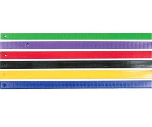 Hyfax Slide Runner - Style 8 - 55 3/8in. - Black 230139