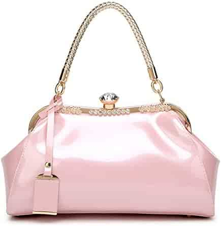 1c942a14a002 Shopping Multi or Pinks - Patent Leather - Handbags & Wallets ...