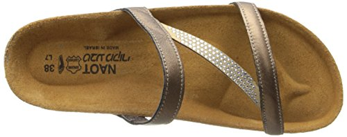 Naot Women's Hawaii Wedge Sandal, Grecian Gold Leather, 39 EU/7.5-8 M US by NAOT (Image #7)