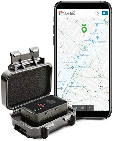 Spytec GPS M2 Waterproof Magnetic Case and GL300 Personal Portable Real-Time Mini GPS Tracker for Cars and Vehicles