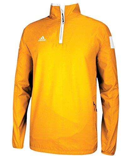 - adidas Men's climaproof shockwave Woven 1/4 Zip - Gold - Medium