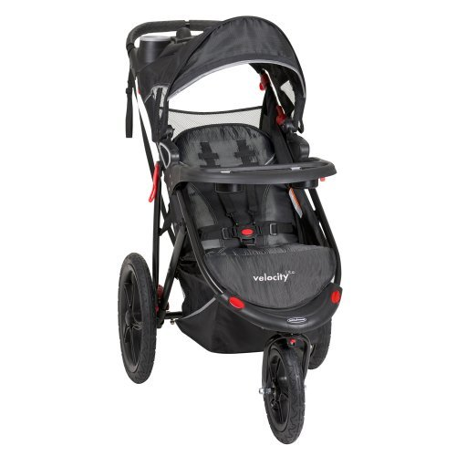 Baby Trend Velocity Lite Jogger Stroller, Black Knight, 50 Pounds by Baby Trend