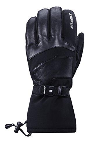 Seirus Arctic Summit Glove女性用レディースブラック1449 – クラシック快適さと暖かさの冬スポーツ、アクティビティ