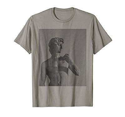David Sculpture by Michelangelo Tshirt