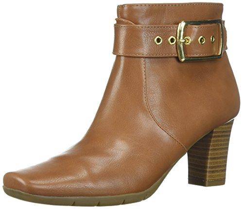 A2 by Aerosoles Women's Monorail Ankle Boot, Dark Tan, 8 M US