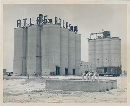 1963 Press Photo Historic Port Everglades Fort Lauderdale Fl Atlas Vintage 8X10