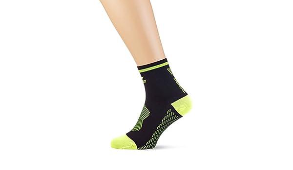 Sportlast Pro Calcetines de Compresión, Negro/Amarillo, M: Amazon.es: Deportes y aire libre