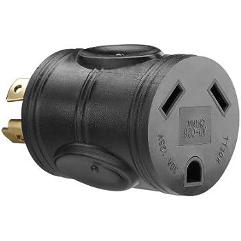 Amazon.com: PowerFit PF923077 120-volt 3-Prong Male Plug