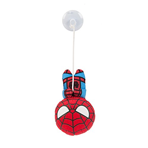 Marvel Hanging Spider-Man Kawaii Art Collection Chibi Suction Plush Toy