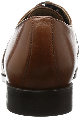 Uomo Scarpe Clarks Limit Marrone Brogue Leather Amieson Tan nEIE6qv