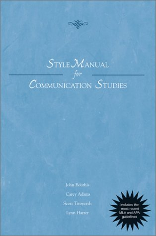 Style Manual for Communication