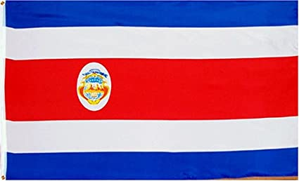 amazon com 3ft x 5ft costa rica flag polyester online stores