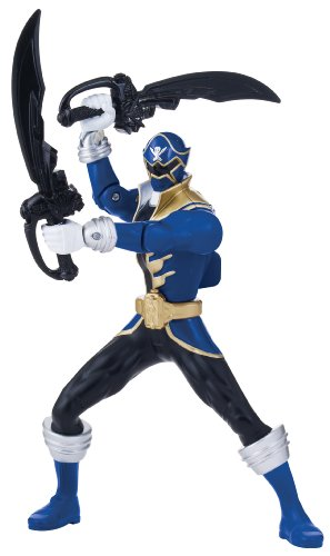 Power Rangers Super Megaforce Double Battle Action Blue Ranger