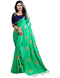 CRAFTSTRIBE Women's Indian Wedding Saree Traditional Bollywood Ethnic Sari Dress