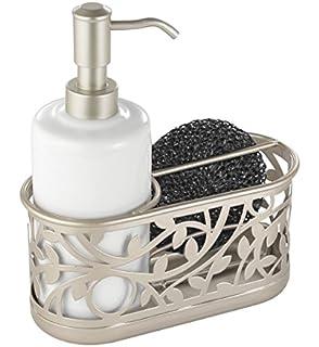 Amazon.com: Sponge Holder Sink Caddy Soap Holder for Kitchen ...