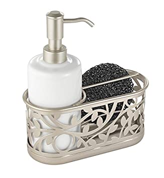 Amazoncom Mdesign Kitchen Sink Soap Dispenser Pump And Sponge
