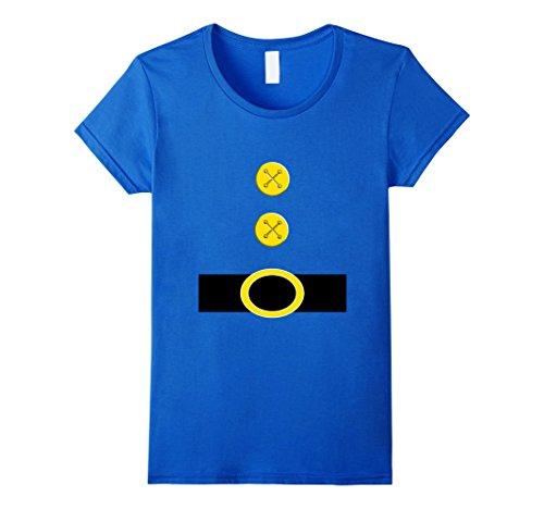 Seven Dwarfs Halloween Costume (Womens Halloween Dwarf Costume Preschool Teacher Gift Shirt XL Royal Blue)