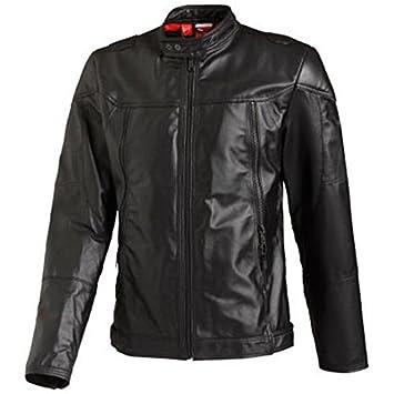 1256ed7f0 Puma Ducati Chaqueta de cuero chaqueta de cuero negro Hombres NUEVO - M   Amazon.es  Deportes y aire libre