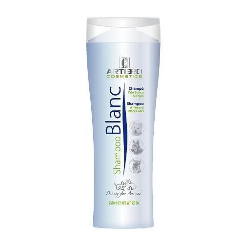Artero Blanc, Champú para perros de pelo blanco o negro, 250 ml