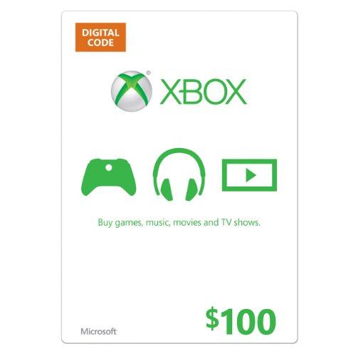 $100 Xbox Gift Card [Digital Code] by Microsoft